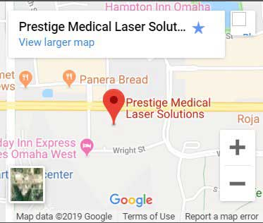 Prestige Medical Laser Solutions Map